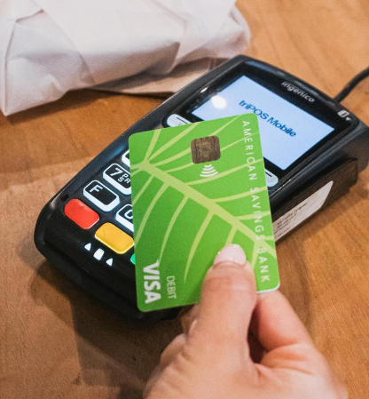 Contactless Debit Card Image