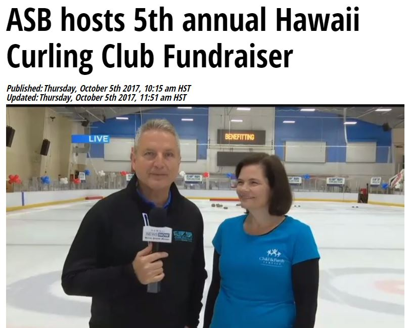 American Savings Bank 5th Annual Hawaii Curling Club Fundraiser