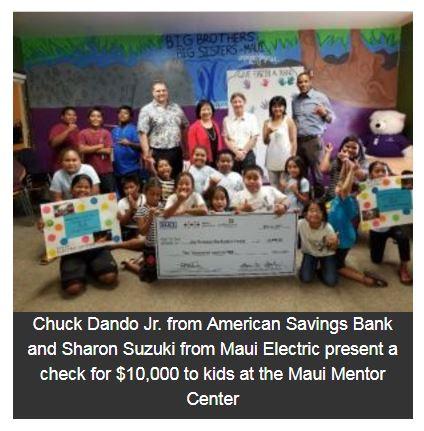 $10K Grant Supports Disadvantaged Maui Youth at Hale Makana