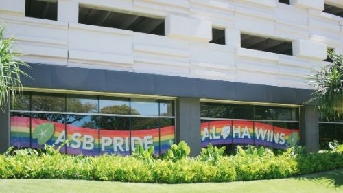 Front lawn Pride Display image