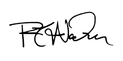 Rich Wacker Signature
