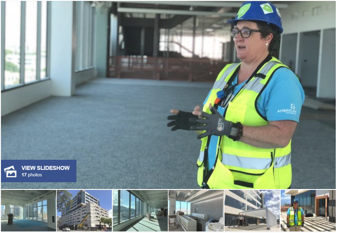 Our brand new ASB Campus is well on its way to completion! Check out this feature from Pacific Business News.