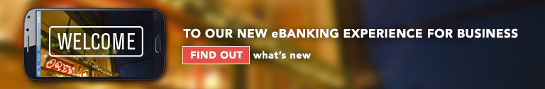 what's new in eBanking for business