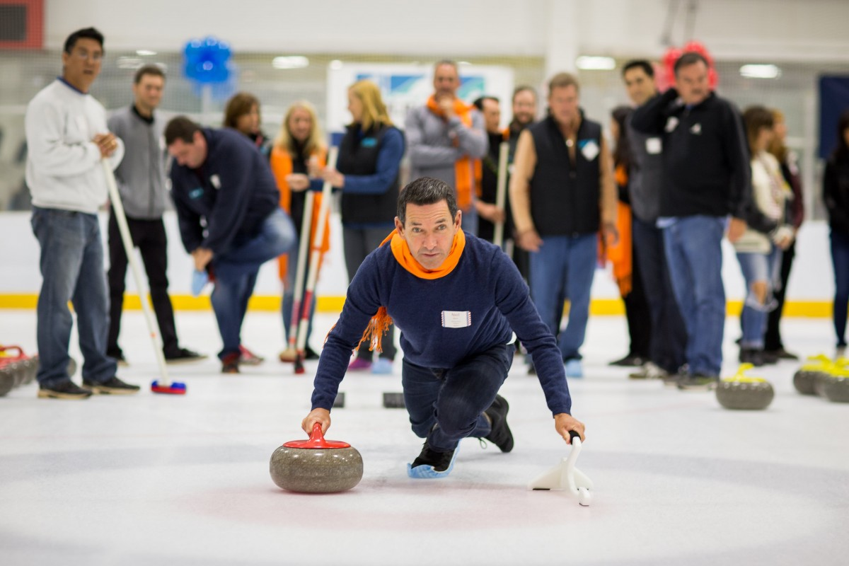 2016 curling event action photo