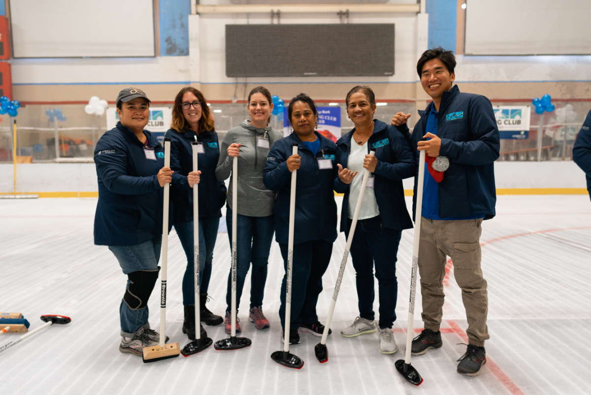 2019 curling event action photo