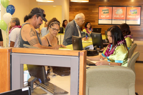 Ewa Branch helping customers