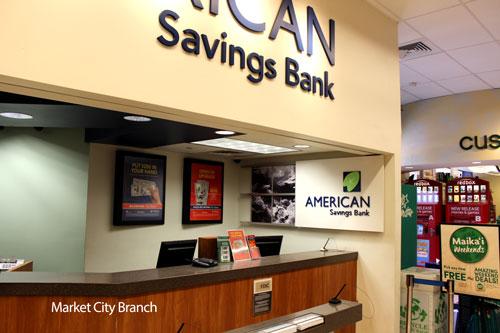 Market City Foodland Branch in Honolulu, HI | American Savings Bank