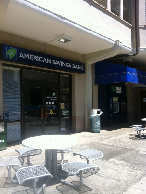 ASB UH Manoa Campus Branch
