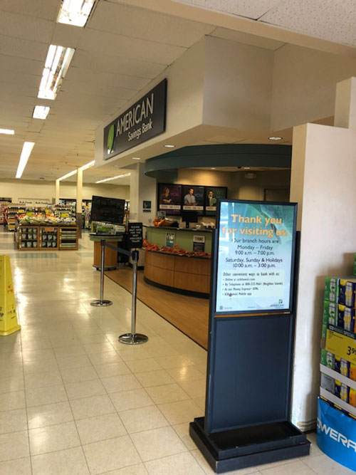 ASB Waipouli Foodland Branch  in store