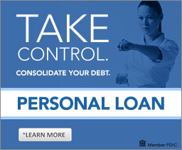 Take Control. Consolidate Your Debt. Personal Loan.