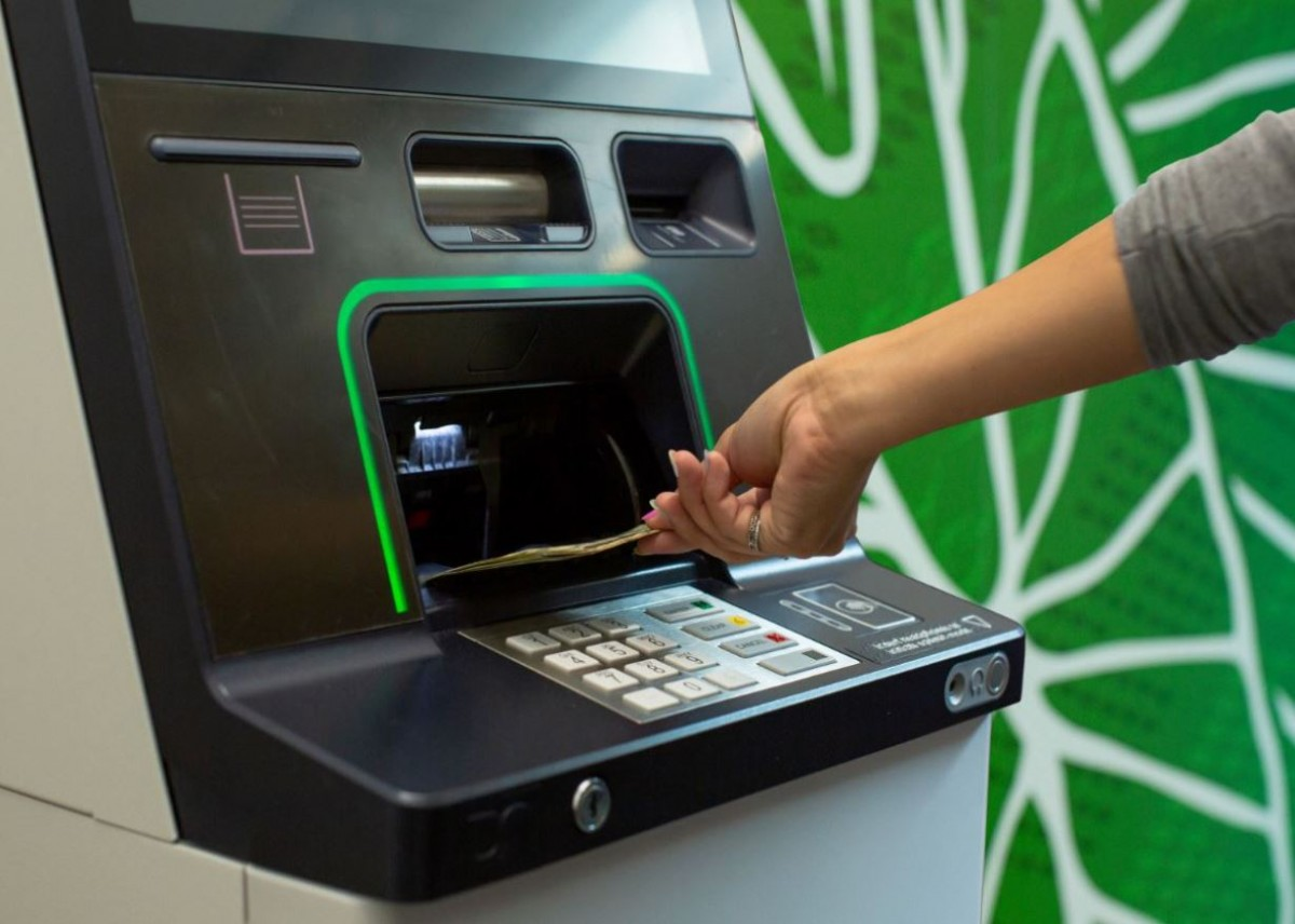 Upgraded ATMs