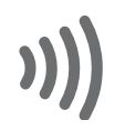 contactless indicator icon