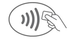 contactless symbol icon
