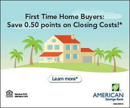 First Time Home Buyer: Save 0.50 points on Closing Costs.  Learn More.