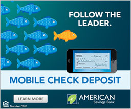 Follow the Leader. Mobile Check Deposit.