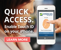 Quick Access. Enable Touch ID on your iPhone. Learn More.