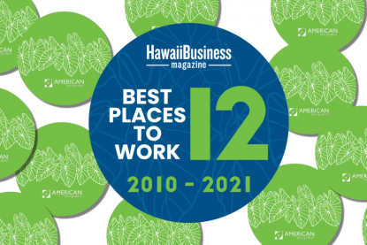 12 Years as a Best Places to Work in Hawaii Thumbnail