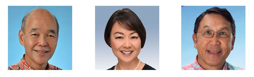 Alan Miyasaki, Ann Sakamoto and Ron Li bring decades of local banking industry experience