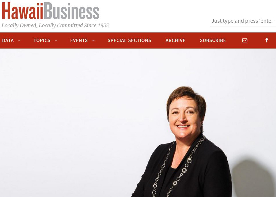 Beth Whitehead – Hawaii Business Ask the Expert column