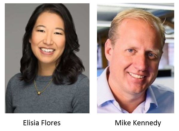 Elisia Flores and Mike Kennedy